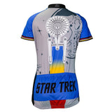 "Brainstorm Gear Women's Star Trek ""Final Frontier"" Cycling Jersey"