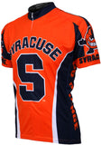 NCAA Men's Adrenaline Promotions Syracuse University Go Orange Road Cycling Jersey