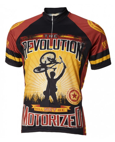 The Revolution Will Not Be Motorized Cycling Jersey