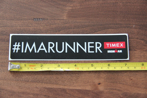 Timex #IMARUNNER Stickers (Set of 4)