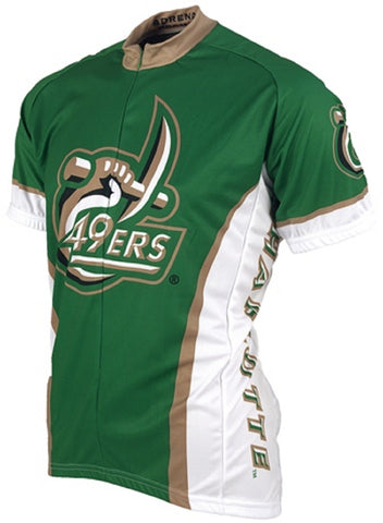NCAA Men's Adrenaline Promotions North Carolina Charlotte 49ers Road Cycling Jersey