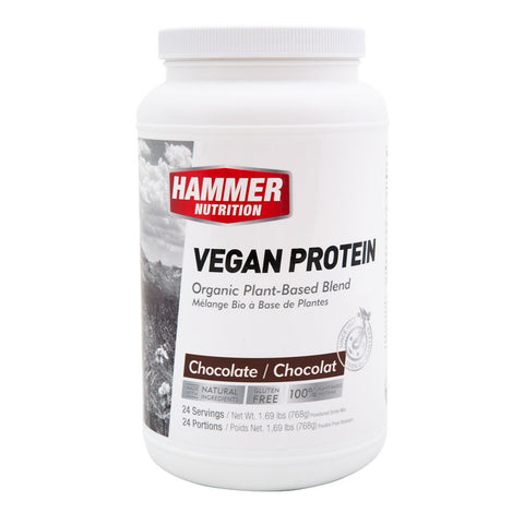 Hammer Nutrition Vegan Protein Powder (24 Serving Canister)
