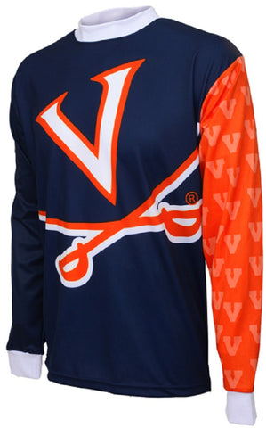NCAA Men's Adrenaline Promotions Virginia Cavaliers MTB Cycling Jersey