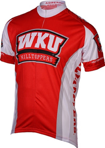 NCAA Men's Adrenaline Promotions Western Kentucky Hilltoppers Cycling Jersey