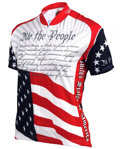 World Jerseys Women's US Constitution Cycling Jersey