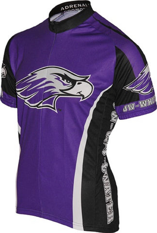 NCAA Men's Adrenaline Promotions University of Wisconsin Whitewater Cycling Jersey