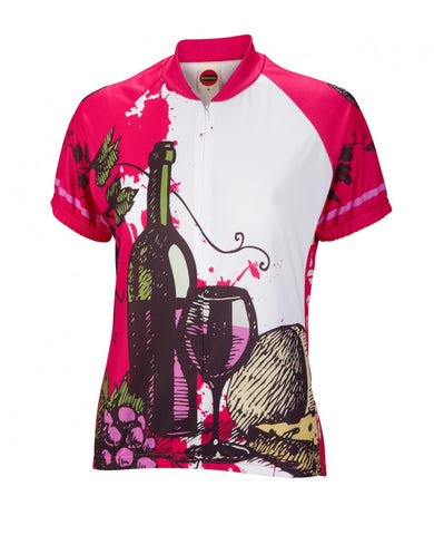 World Jerseys Women's Wine Time Cycling Jersey