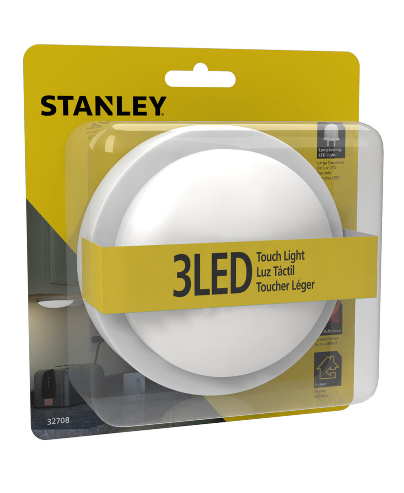 STANLEY 32708 Mini Round LED Touch Light - wattsonsale
