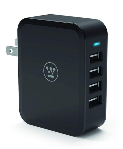 Westinghouse® 96408 USB Wall Charger, 4 USB Ports - wattsonsale