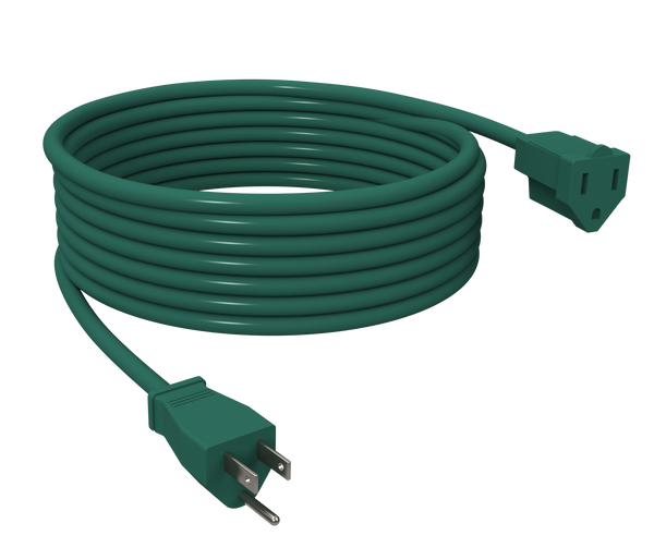 STANLEY 40FT Outdoor Extension Cord, Green