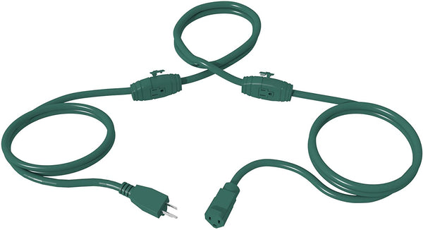 STANLEY 25FT Outdoor Landscape Extension Cord, Green