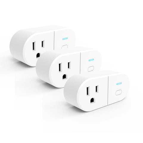 Westinghouse 3-Pack Wi-Fi Smart Plug, Works with Amazon Alexa, Google Assistant, IFTT