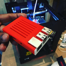 Load image into Gallery viewer, Raspberry Pi Case 3D printed on the FABX Pro
