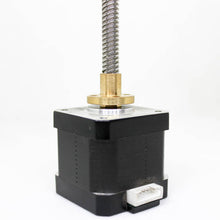 Load image into Gallery viewer, Nema 17 Stepper Motor with Integrated Lead Screw