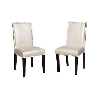Linon 022627PRL02U Stewart Dining Chairs Set Of Two