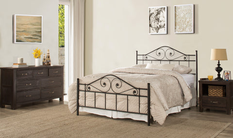 Hillsdale 1403HKR Harrison Headboard King with Rails