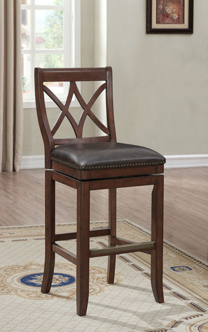 American Heritage Billiards 126180 Hadley Counter Height Stool in Sable