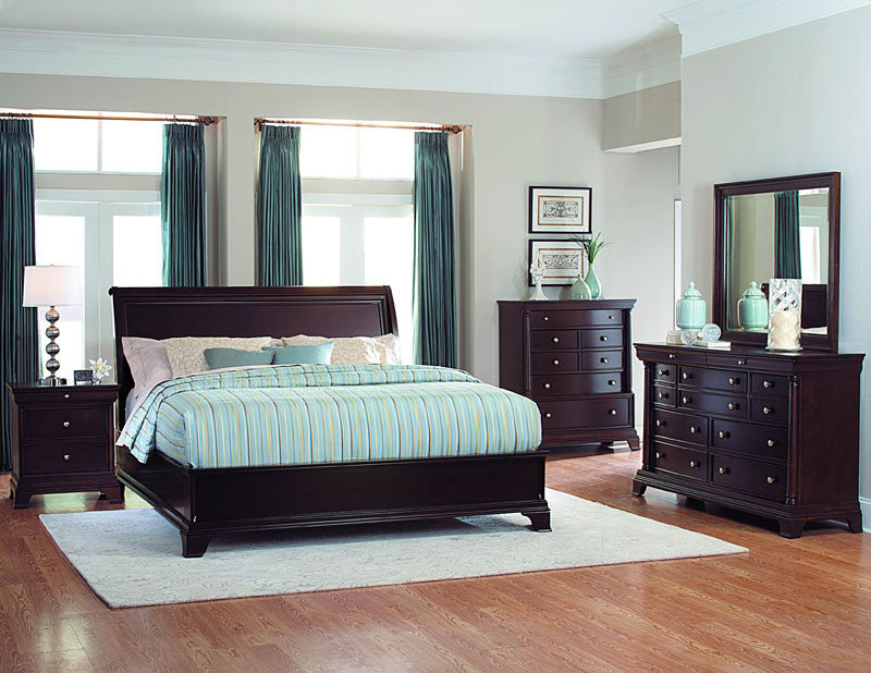 Homelegance 1402-6rt Inglewood Collection Color Deep Cherry