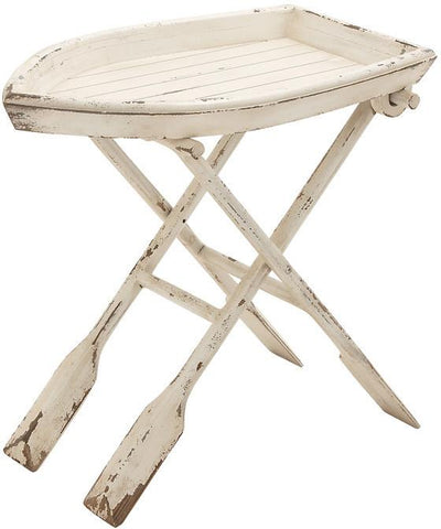 "Bayden Hill Wd Folding Table 28""W, 25""H - Peazz.com"