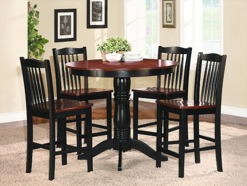 Homelegance 2458-36 Andover Collection Color Oak And Black