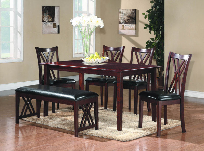 Homelegance 2459 Brooksville Collection Color Warm Cherry