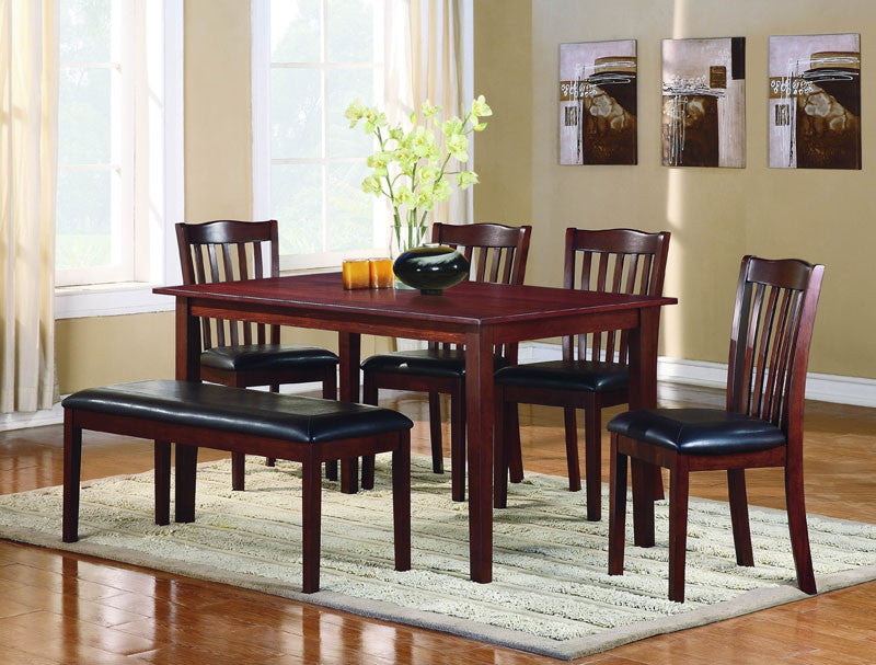 Homelegance 2513 Schaffer Collection Color Warm Cherry