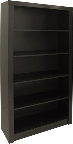 Accentuations by Manhattan Comfort Classic Olinda Bookcase 1.0 with 5-Shelves in Tobacco - Peazz Furniture - 1