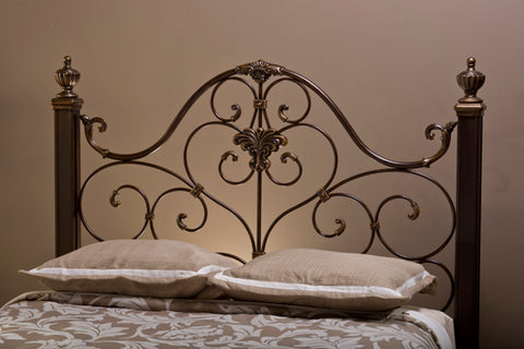 Hillsdale 1648HQR Mikelson Headboard - Queen - w/Rails
