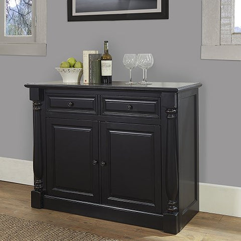 Crosley Furniture Buffet in Black Finish