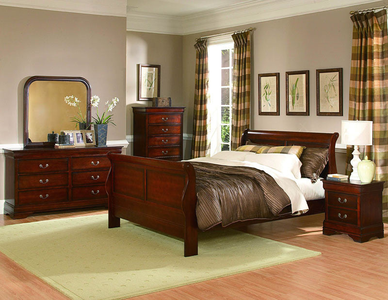 Homelegance 549f-1 Chateau Brown Collection Color Distres...
