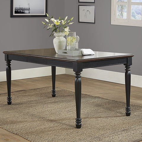 Crosley Furniture Dining Table in Black Finish