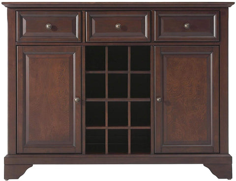 Crosley Furniture LaFayette Wine Buffet/Sideboard - Vintage Mahogany