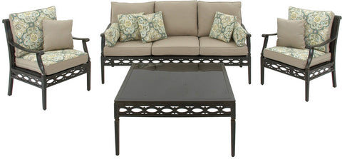 "UMA Inc +Alum Pe Wkr Sofa S/4 75""W, 36""H - Peazz Furniture"