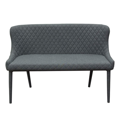 Diamond Sofa Savoy Accent Bench in Gray - Set of 2