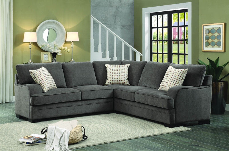 Homelegance 8335-ac Alamosa Collection Color Brown Chenille