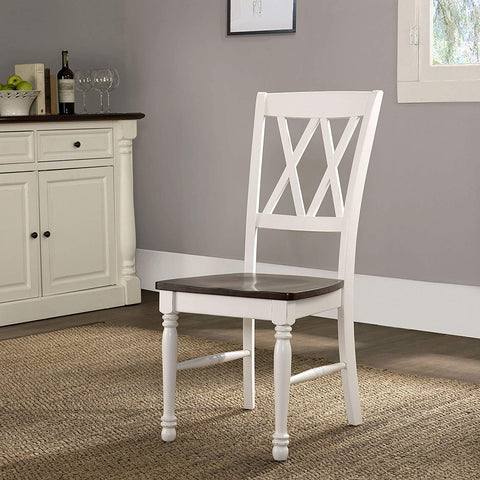 Crosley Furniture CF501018-WH Shelby Dining Chairs (Set of 2) - White