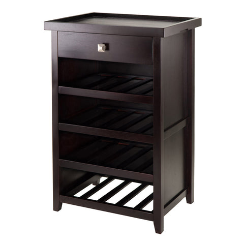 Winsome Wood 92725 Zillah Wine Cabinet with Removable Tray - Peazz Furniture - 1