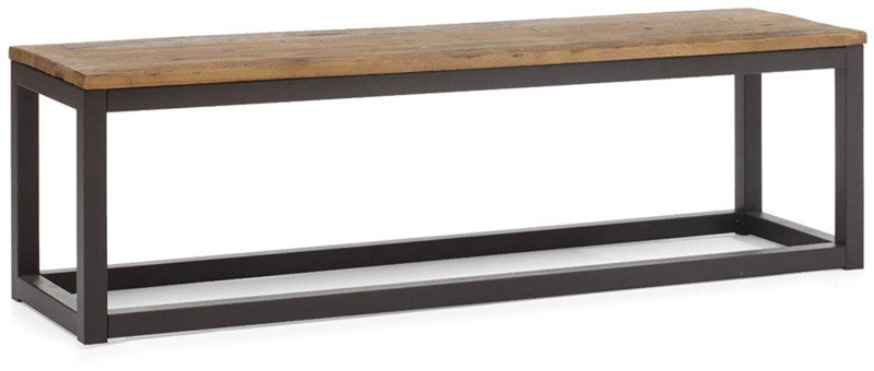 Zuo Modern 98124 Civic Center Bench Color Distressed Natu...