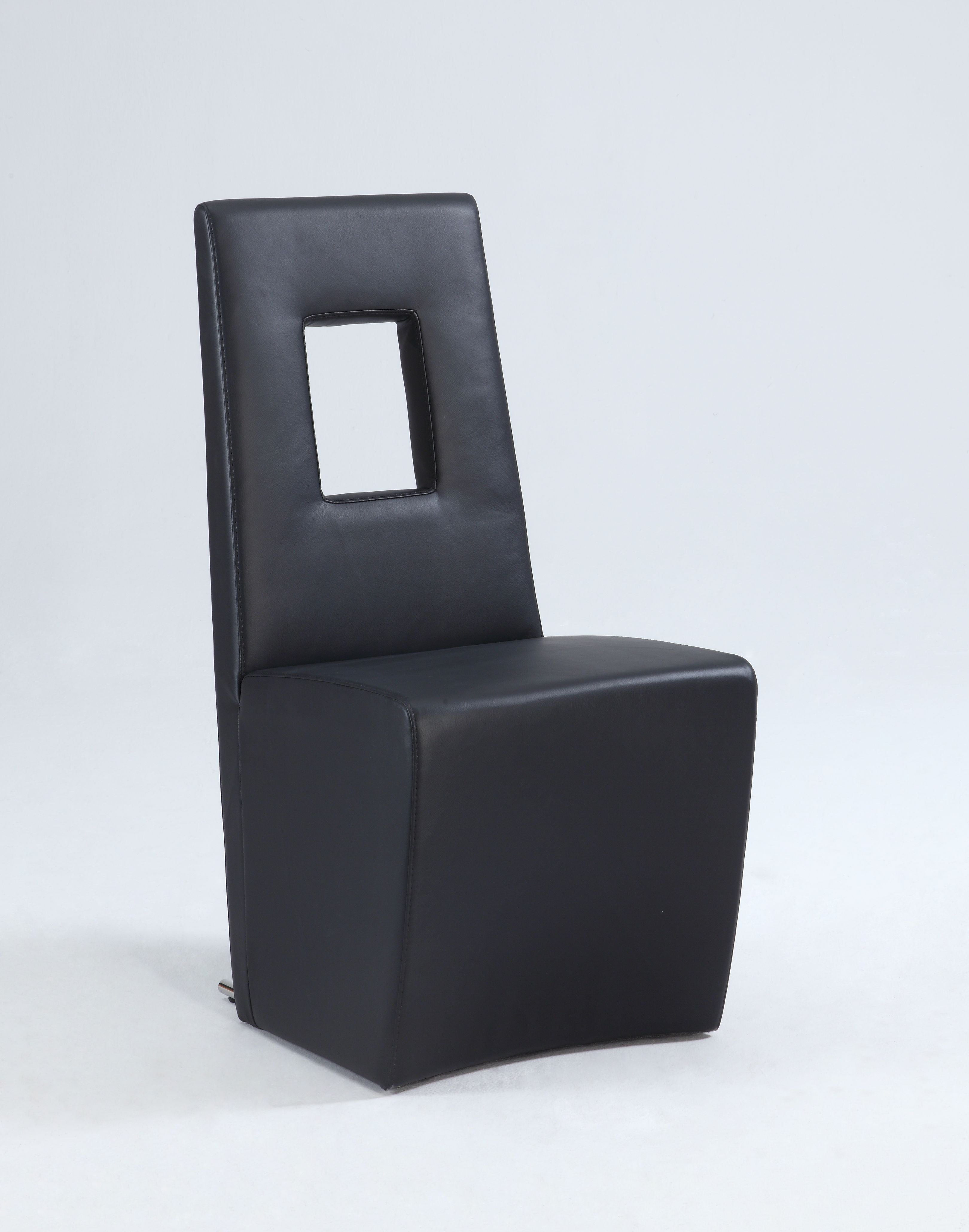 Chintaly Chasity-sc-blk Fully Upholstered Side Chair ( Se...