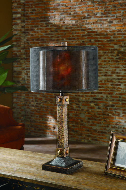 Crestview Collection Ciaup535 Montana Table Lamp 16 X 16 ...