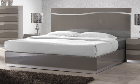 Chintaly DELHI-BED-QN-FBSR Queen Bed Footboard & Side Rails