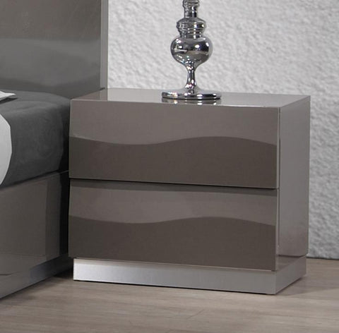 Chintaly DELHI-NS 2 Drawer Night Stand