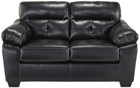 Flash Furniture FBC-4299LS-MID-GG Benchcraft Bastrop Loveseat in Midnight DuraBlend - Peazz Furniture