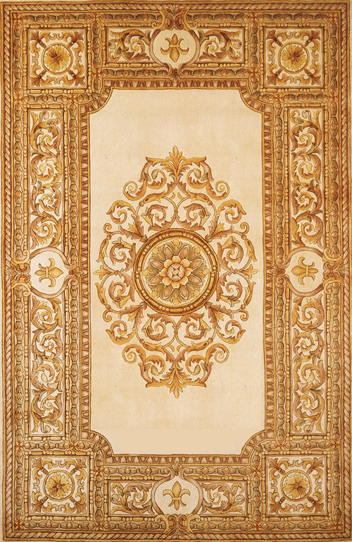 Chinese Hand Tufted Maison Collection Ivory Rugs - Momeni Collection Image