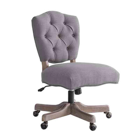 Linon OC054GRY01U Kelsey Gray Office Chair