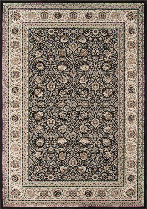 Machine Made Royal Collection Charcoal Rugs 18106 Product Photo