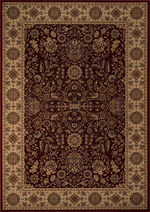 Machine Made Royal Collection Red Rugs 18113 Product Photo