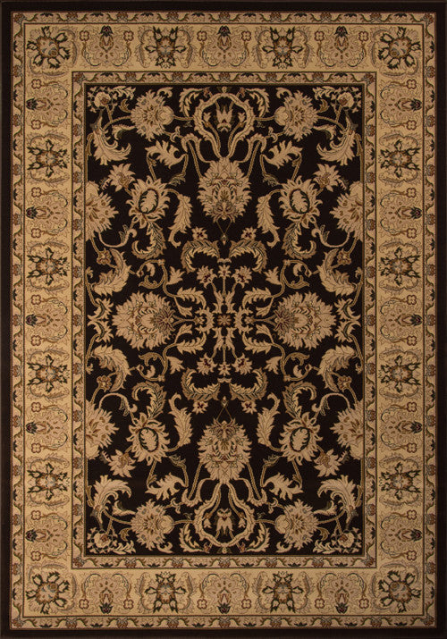 Machine Made Royal Collection Brown Rugs 18106 Product Photo
