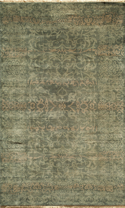 Indian Hand Knotted Shalimar Collection Blue Runner 3335 Product Photo