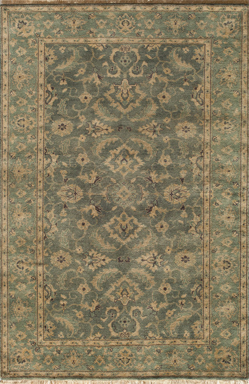 Momeni Indian Hand Knotted Shalimar Collection Blue Rugs Collection Image